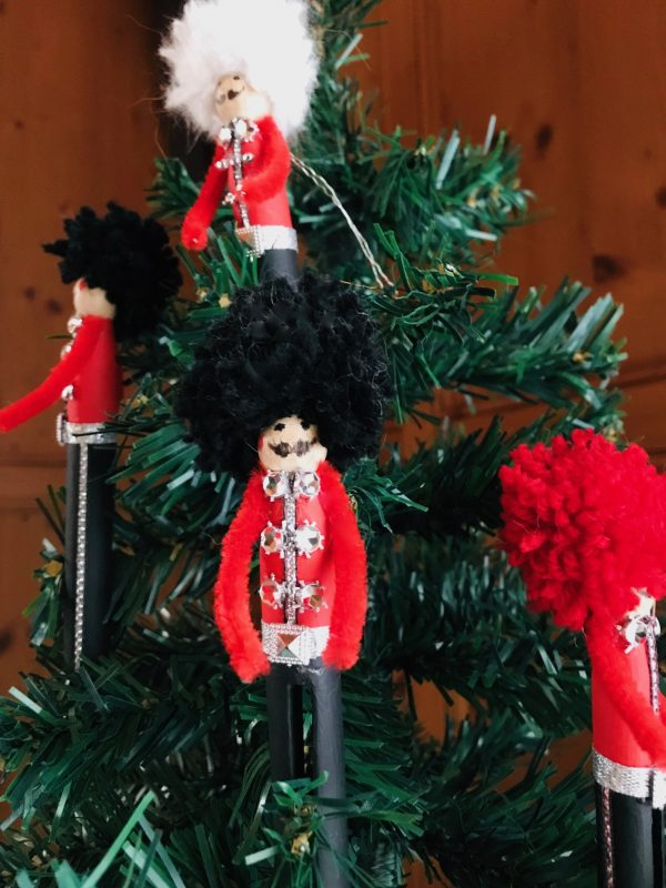 Weihnachtsdeko von Helga Dettendorfer