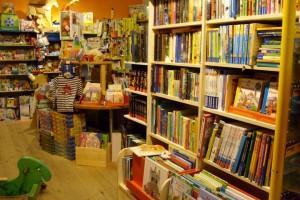Blick in den Spielzeugladen Amedi Spiele