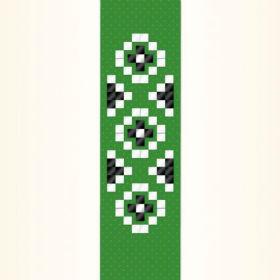 grünes Pixelband