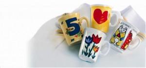 Kindergeburtstag - Tassen bemalen