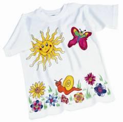 Kindergeburtstag - T-Shirt bemalen