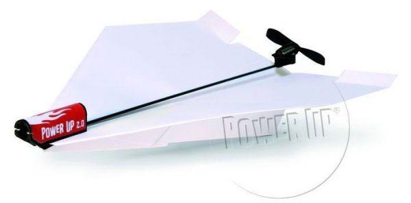 Papierflugzeug mit Motor