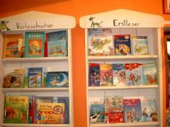 Bücher im Amedi Spielzeugladen
